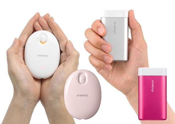 The Eneloop Kairo's are stylish and palm-sized hand warmers that can be carried anywhere to keep you warm.