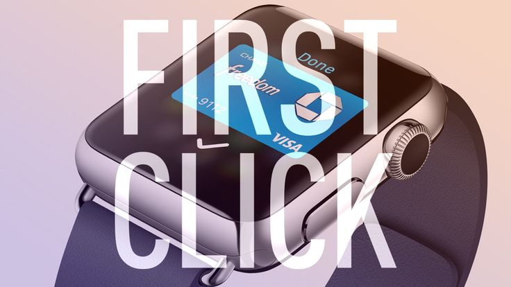 First Click: A month with Apple Watch as my wallet | The Verge