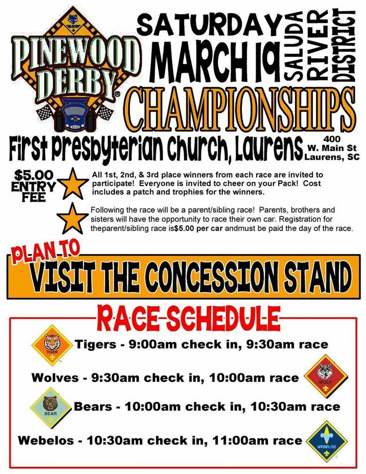 Derby Flyer Pack 43 Pinewood Derby Pinterest Pinewood Derby