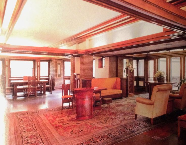 frank lloyd wright interior my house pinterest