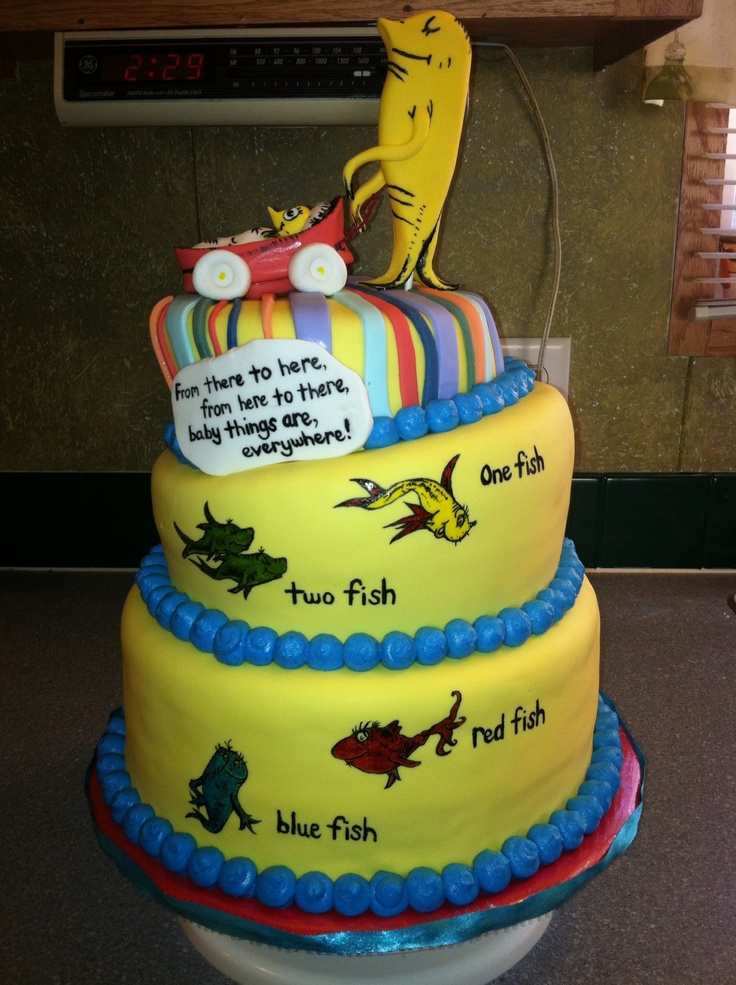 56 best Cake Dr Seuss Examples images on Pinterest Birthday