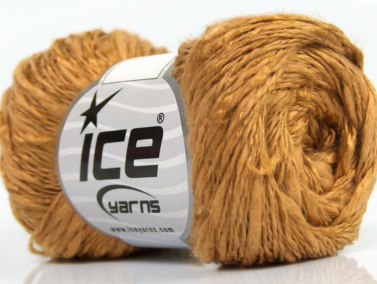 Limited Edition Spring-Summer Yarns Viskon Yazlık  Pamuk Flamme Natural Yarn Fine Weight Açık Kahve  İçerik 60% Pamuk 40% Viskon Light Brown Brand ICE fnt2-41423