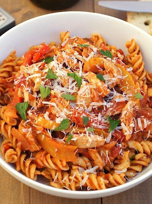 85 easy healthy chicken crock pot recipes mom skinny for Easy healthy chicken crockpot recipes