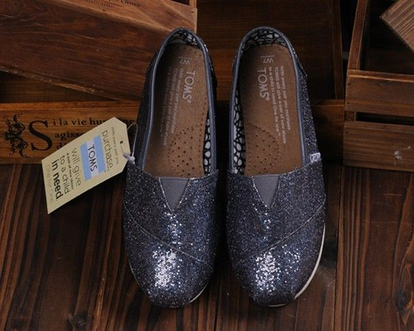 Toms Glitter Shoes Womens Grey : Toms Shoes Outlet, TOMS outlet store online,big promotion,100% quality guarantee,TOMS Outlet sale with 70% discount!