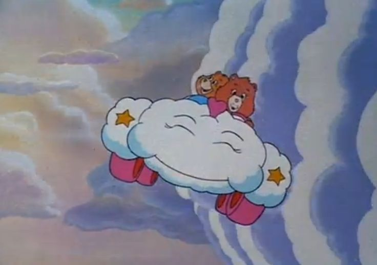 Secret Bear & Friend Bear (The Care Bears Movie, 1985)