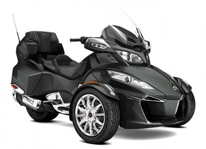 SPYDER Can-Am  Bombardier Can-Am Spyder RT Limited SE6 Asphalt Grey Metallic '17