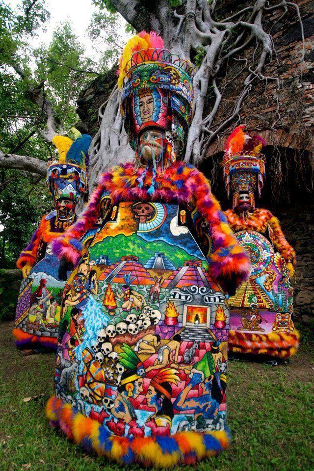 Estos son nuestros Chinelos de Morelos, un símbolo morelense de cultura, historia, identidad y diversión.