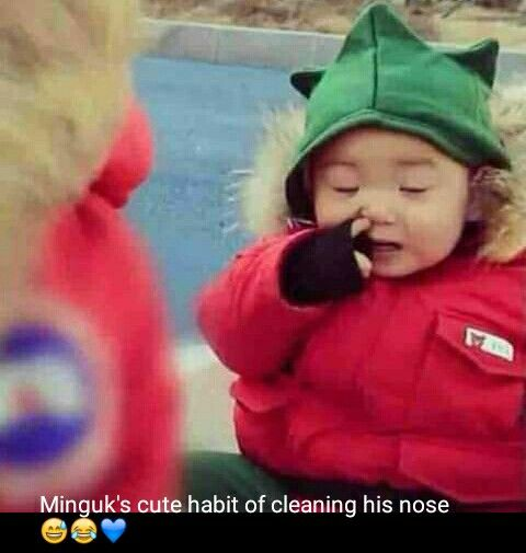 how cute  #songminguk #minguk #songtriplet