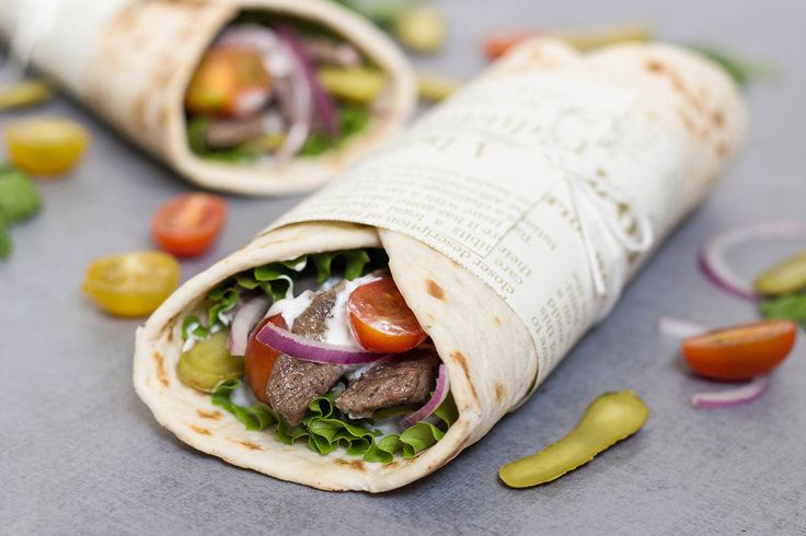 This Lebanese Beef Shawarma has everything you need. Tender meat, veggies, and a wonderful tahini based sauce. Perfect on the go meal!