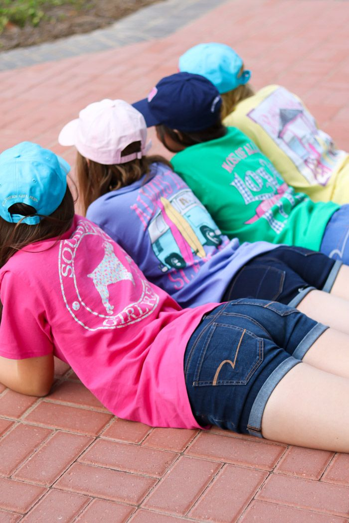 Southern Girl Prep | cotton preppy t-shirts for youth and adult |