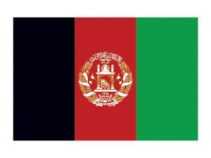 Afghanistan Flag Tattoo #flags #afghanistanflag #temporarytattoos #t4aw