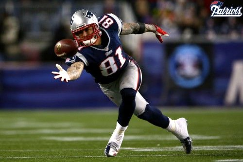 Attachment for Aaron Hernandez - The New England Patriots HD wallpaper for widescreen