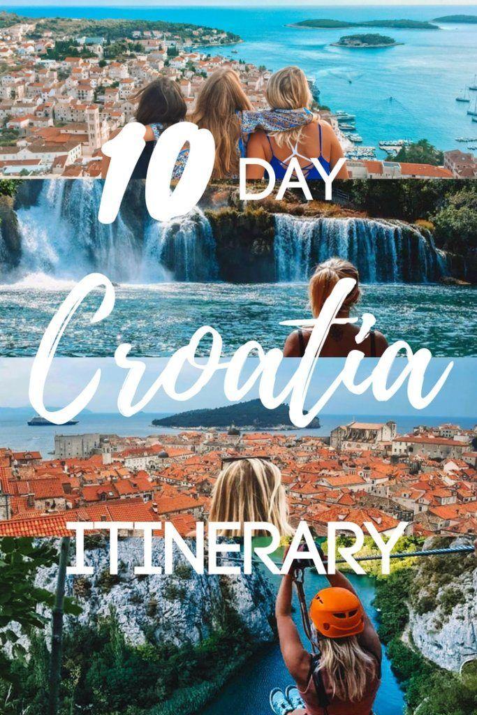 10 Days In Croatia: The Best 10-Day Croatia Itinerary