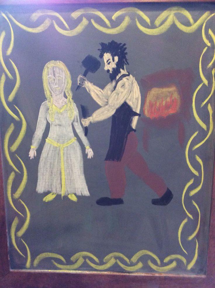 Kalevala- gold and silver bride