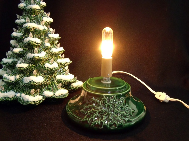 79 best Ceramic Christmas Tree Base images on Pinterest | Ceramic ...