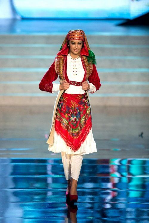 Miss Universe Albania National Costume 2012