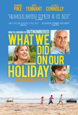 January 2015 | 11. What We Did On Our Holiday — This gets very dark, very quickly, it's a kind of disjointed film that isn't sure if it wants to be family friendly or go in completely the opposite direction. I could listen to Billy Connolly all day but he didn't quite save the film. 5/10.