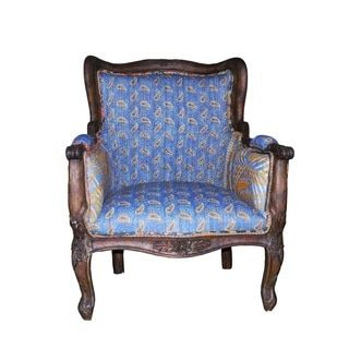 Shop for Blue Unique Vintage Kantha Armchair (India). Get free delivery at Overstock.com - Your Online Furniture Destination! Get 5% in rewards with Club O!