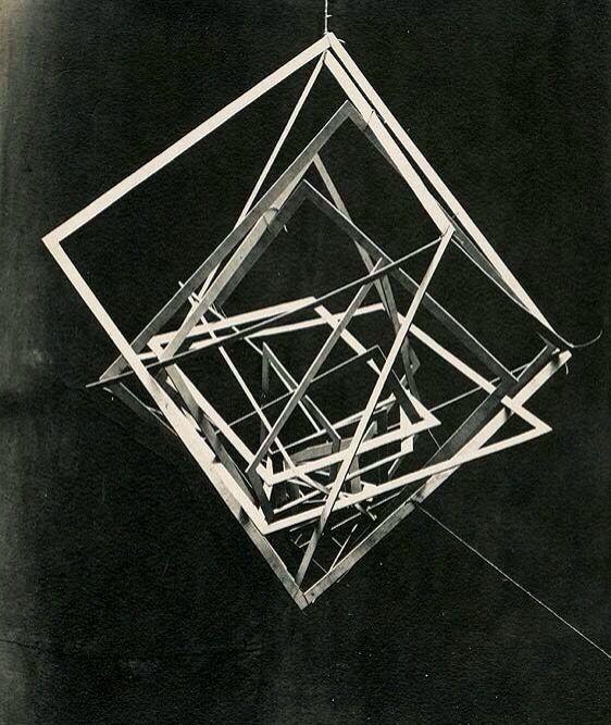 "Alexander Rodchenko - ""Construction Hanging Space"" No. 11, 1921"