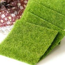 Neue Micro Landschaft Dekoration DIY Mini Fee Garten Simulation Pflanzen Künstliche Gefälschte Moos Dekorative Rollrasen Grüne Gras(China (Mainland))