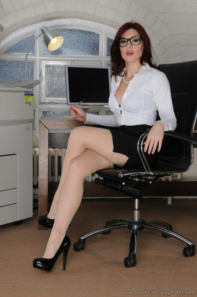 Made Glasses redhead mature secretary wife want