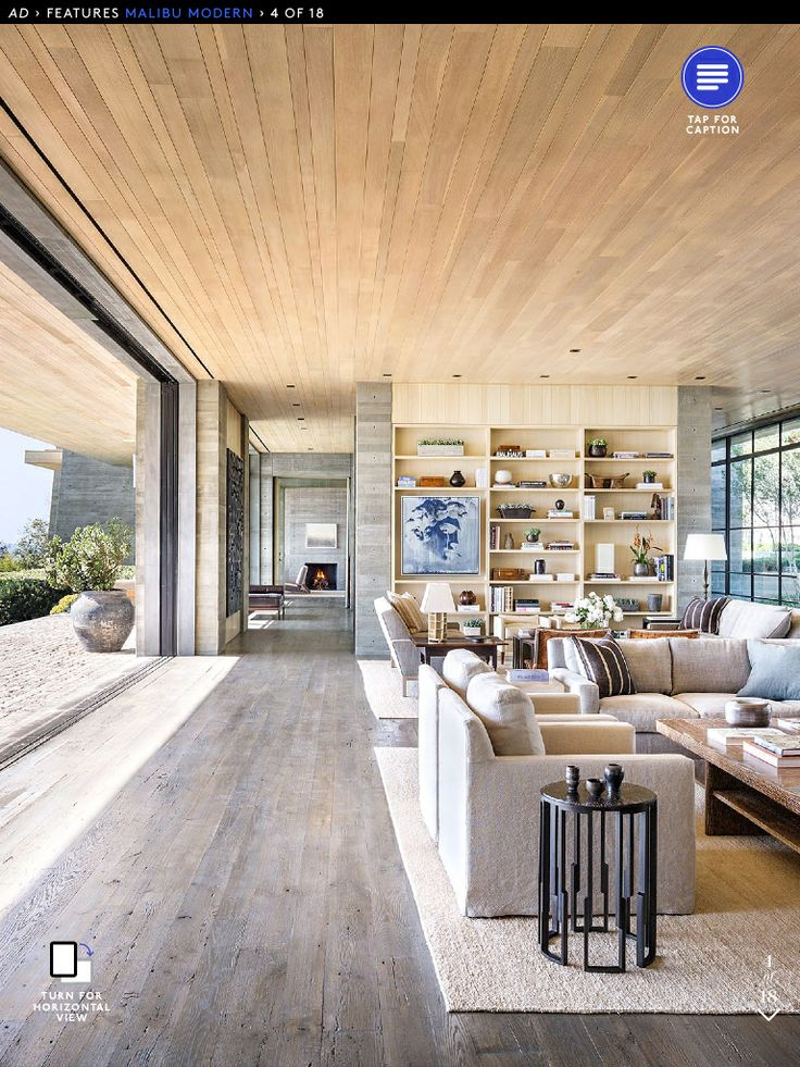 Concrete and wood  a no sneeze home!