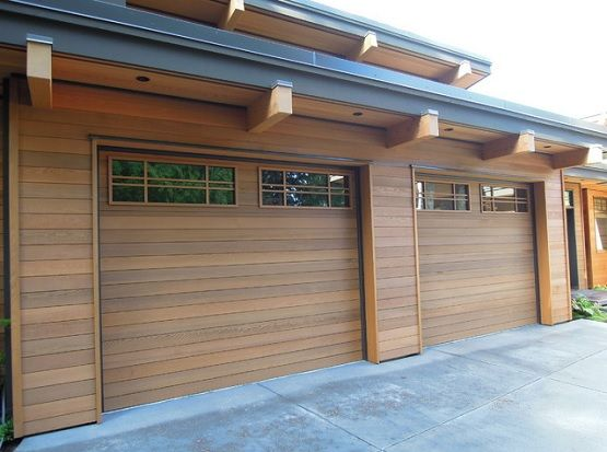 25 best ideas about garage door window inserts on for Cedar wood garage doors price