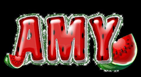 The Name Amy in Glitter | Name graphics » Amy Name graphics