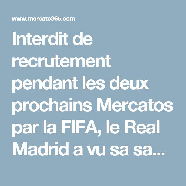 Interdit de recrutement pendant les deux prochains Mercatos par la FIFA, le Real Madrid a vu sa sanction assouplie par le TAS ce mardi.