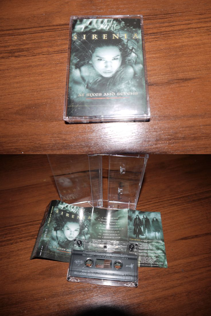 Sirenia - At Sixes and Sevens (cassette Irond 2002)
