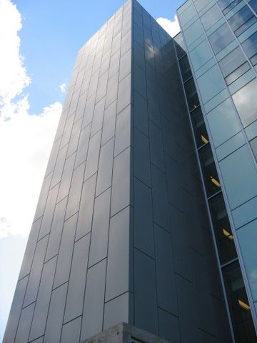 Project: New College - U of T Location: Toronto, ON Product: Zinc  Architect: Saucier and Perotte