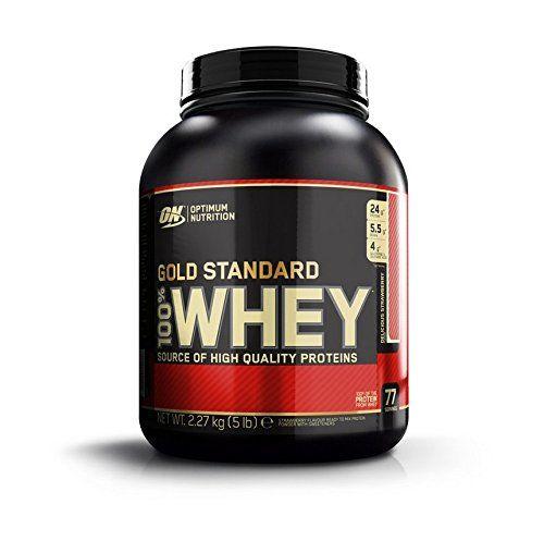 Optimum Nutrition Gold Standard 100% Whey 2273 g Strawberry Protein Shake Powder No description (Barcode EAN = 0358965513081). http://www.comparestoreprices.co.uk/december-2016-6/optimum-nutrition-gold-standard-100%-whey-2273-g-strawberry-protein-shake-powder.asp
