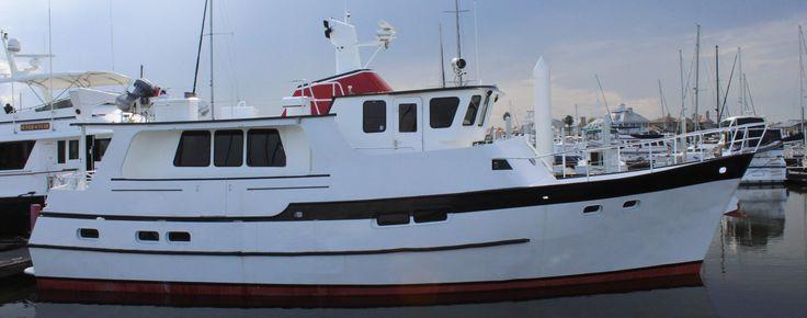 1991 Florida Bay Coaster 55' Trawler Power Boat For Sale - www.yachtworld.com