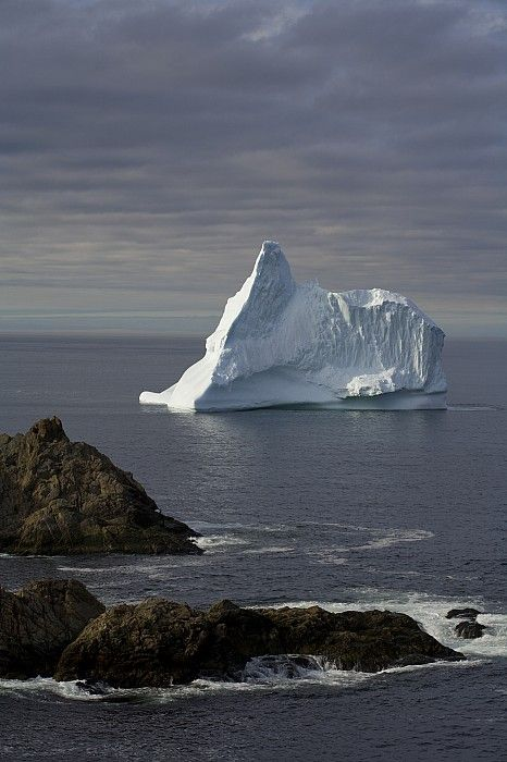 Iceberg, Twillingate, Newfoundland, Canada; photo by .John Sylvester