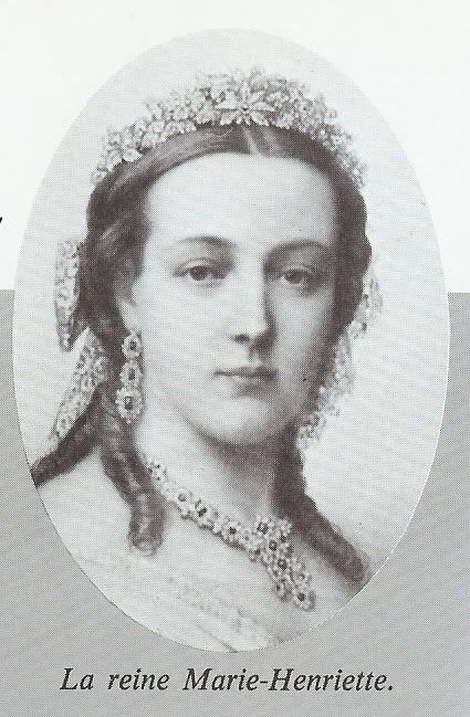 Marie Henriette Anne of Austria VA (* 23 August 1836 in Pest , Hungary , † 19 September 1902 in Spa ) was a member of the House of Habsburg-Lorraine by marriage and Queen of the Belgians. She came from the Hungarian branch of the House of Habsburg-Lorraine, which on Archduke Joseph († 1847) declined. She was a mother of Stefanie von Belgien a wife of Rudolf