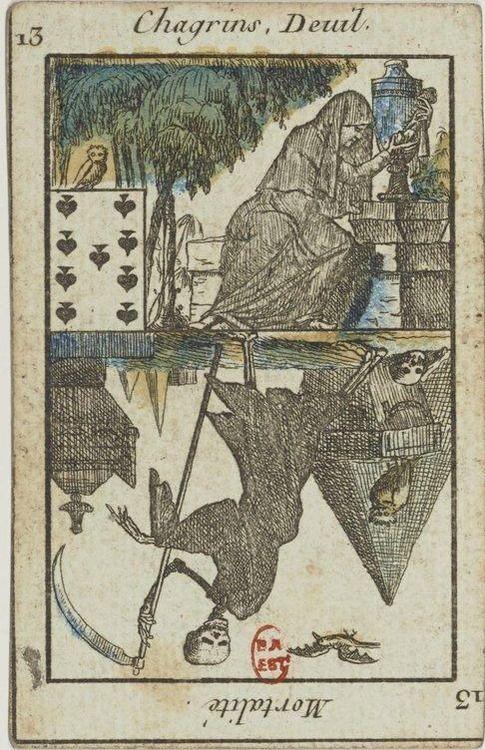 Bibliothèque nationale de France. Jeu du Petit Oracle : [jeu de cartes, estampe] - 23 (1795-1799)