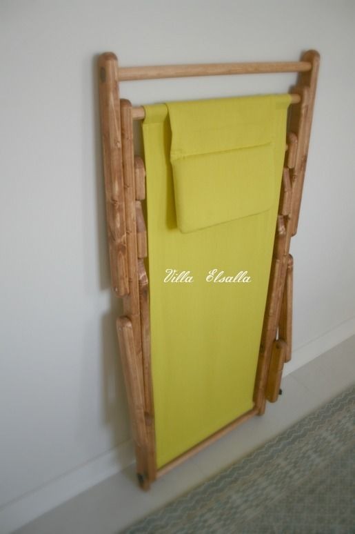 Deck chair - DIY http://villaelsalla.blogaaja.fi/kansituoli-diy/