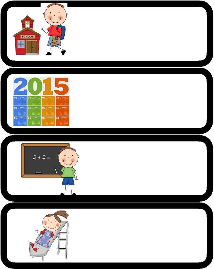Ειδική Διαπαιδαγώγηση : Καρτελάκια για την τάξη! Υλικό