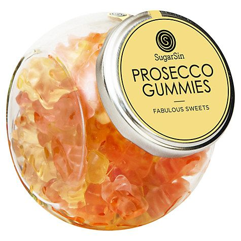 Buy Sugarsin, Prosecco Gummy Bears, 250g Online at johnlewis.com