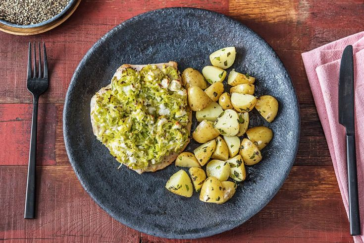 Chicken with Minted Potatoes Recipe | HelloFresh