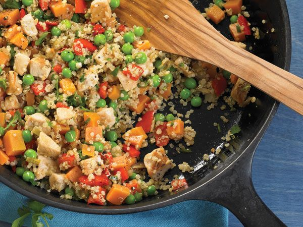 Cook Once, Eat All Week: Quinoa http://www.prevention.com/food/cook/easy-quinoa-recipes/slide/1