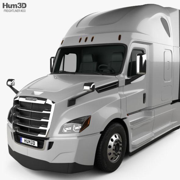 Freightliner Cascadia 126bbc 72 Sleeper Cab Raised Roof Aerox Tractor Truck 2018 Freightliner Cascadia Freightliner Freightliner Trucks