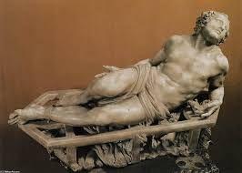 Martelaarschap van Sint-Laurentius is een vroege sculptuur van de Italiaanse kunstenaar Gian Lorenzo Bernini. Het beeldt de heilige op het moment van zijn martelaarschap, levend verbrand op een rooster