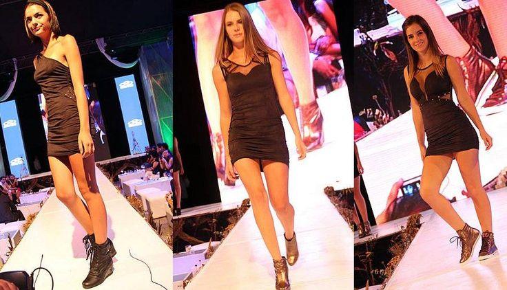 La forma ideal de combinar un clásico Little Black Dress. #moda #femenina #vestido #negro