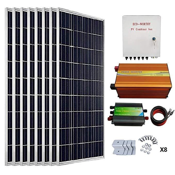 Solar Panel Kits 6 Best Solar Panel Kits For Home Rv Sheds Offgridliving Livingoffgrid Solar Pane Solar Energy Panels Solar Panel Kits Solar Heating