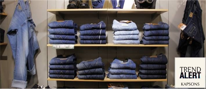 Coz denim is always in-vogues.... #Coolest denim styles and the most pocket friendly prices available at Kapsons. #Kapsons #WeekendShopping