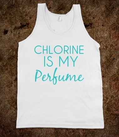 People tell me I smell like chlorine...only if they would understand..swimming problems