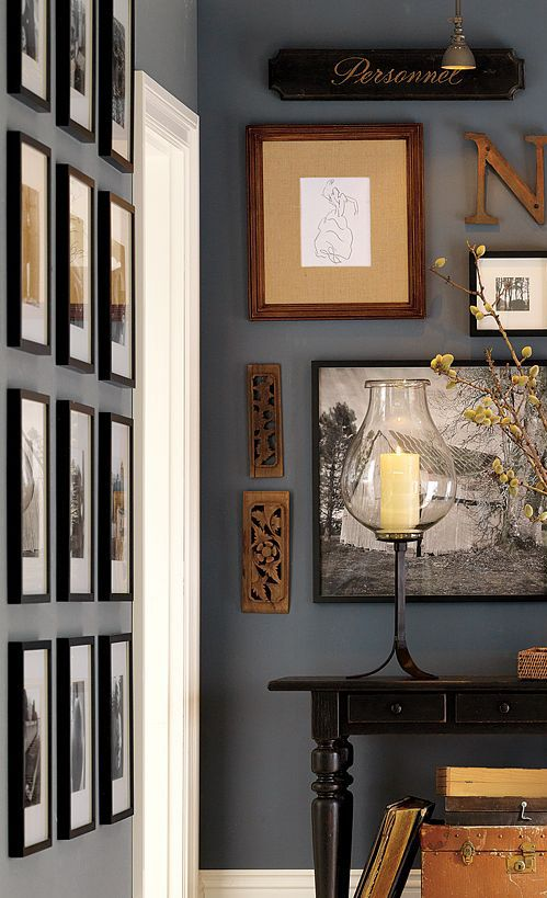Stuck with a blank wall in your home take a look at 6 for Different ways to paint walls