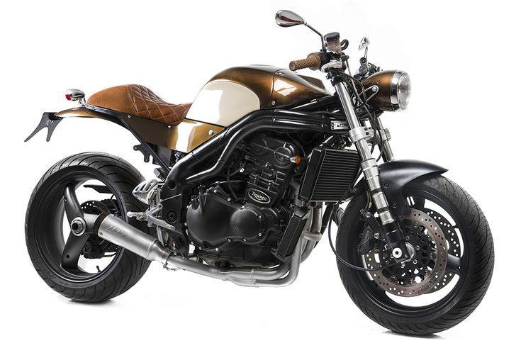 Bike of the Day #27: Triumph Speed Triple by Matteucci Garage - www.urbanmotoculture.com