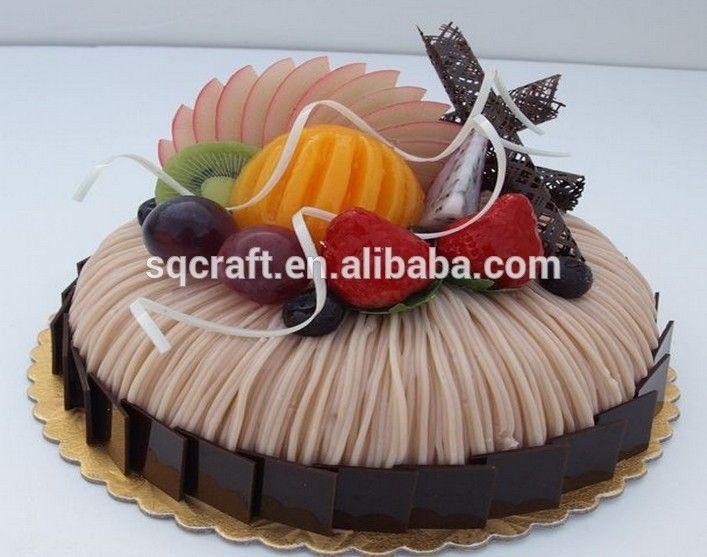 Birthday Cake Model With High Quality Fruit Decoration -Yiwu sanqi crafts…